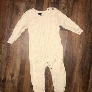 Baby Gap knitted one piece.